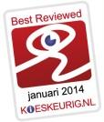 Kieskeurig best reviewed